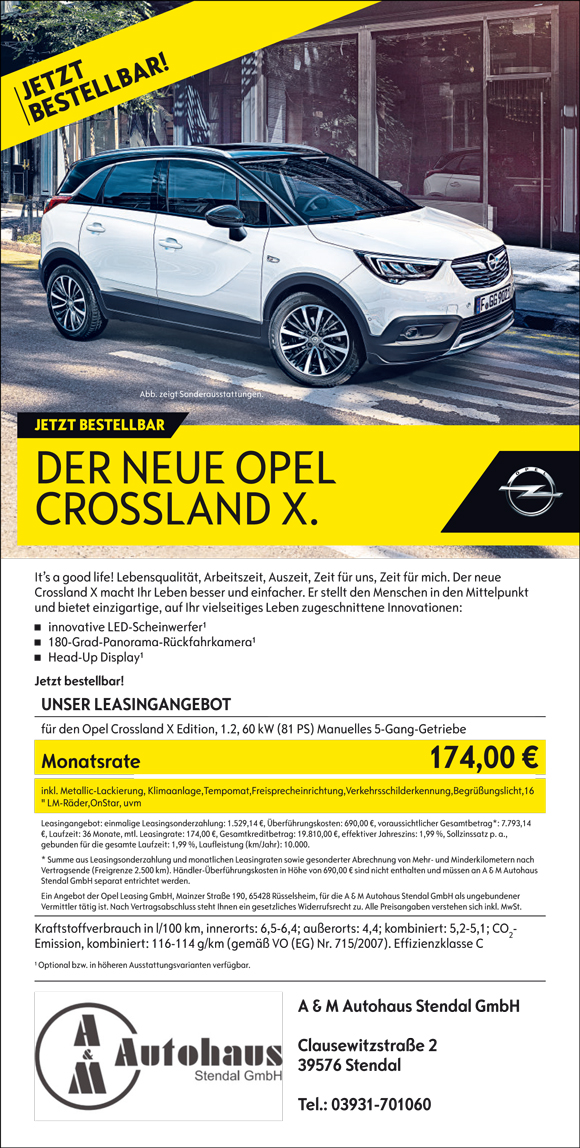 a m autohaus stendal gmbh opel seat in stendal. Black Bedroom Furniture Sets. Home Design Ideas